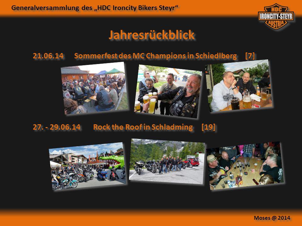 Jahresrückblick 21.06.14 Sommerfest des MC Champions in Schiedlberg [7] 27.